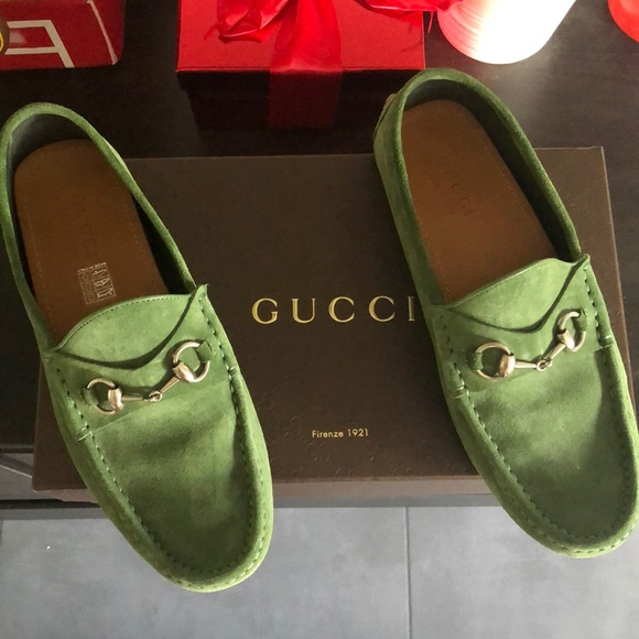 4c9745327c88 Gucci Other - Gucci men green shoes brand new